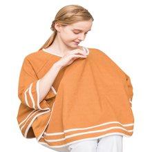 乐孕喂奶巾哺乳衣外出喂奶衣遮挡巾防走光罩衣遮羞布披肩背心斗篷