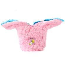 姣兰 米菲 可爱小兔子干发帽 超细纤维加厚长绒干发帽