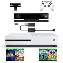 微软 Xbox One S 家用体感游戏机500G 国行 电玩 健身运动套装