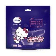 高洁丝经典系列夜安裤裤型卫生巾L号HN2(2片)