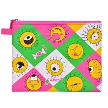 上品汇若姬小文件袋拉链加厚卡通创意收纳袋儿童学生资料袋细物袋