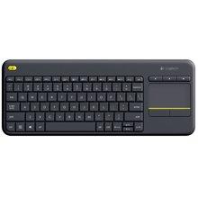罗技(Logitech)无线触控键盘 K400 Plus