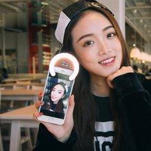 萌奇 鹿卡斯手机补光灯主播自拍灯光美颜瘦脸直播打光苹果华为小米安卓手机通用