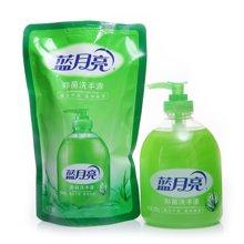 蓝月亮芦荟抑菌洗手液瓶装+芦荟抑菌洗手液袋装(500g*2)