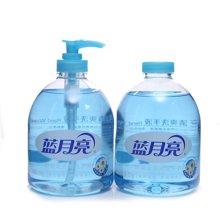 蓝月亮野菊花洗手液+补充装(500g+500g)