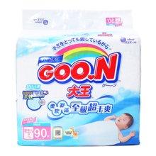 ¥GOO.N(大王)环贴式纸尿裤E系列NB号 NC2(90片)