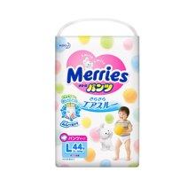日本Merries花王婴儿拉拉裤(L44片)