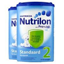 【2罐装】荷兰Nutrilon牛栏奶粉2段(6-10个月宝宝) 850g