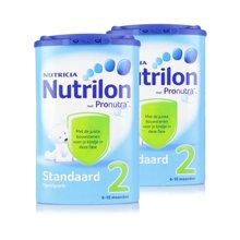【2罐装】荷兰牛栏2段奶粉(6-10月) 850g*2