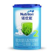 诺优能较大婴儿配方奶粉2段(900g)