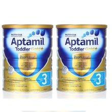 【2罐装】澳洲Aptamil爱他美 金装奶粉3段 900g(新西兰可瑞康)