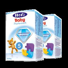 【2盒装】荷兰Hero baby天赋力奶粉5段(2周岁以上宝宝)700g/盒