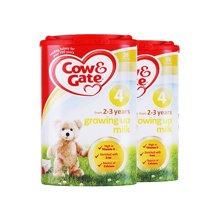 【2罐装】英国牛栏Cow&Gate奶粉4段800g*2