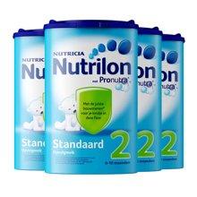 【4罐装】荷兰 Nutrilon牛栏奶粉2段(6-10个月宝宝) 850g/罐