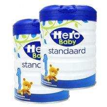 【2罐装】荷兰Hero Baby 天赋力奶粉白金版1段(0-6个月)800g/罐