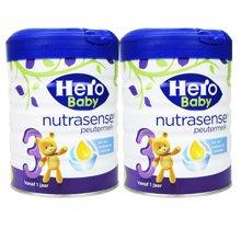 【2罐装】荷兰Hero Baby 天赋力奶粉白金版3段(1岁以上)700g
