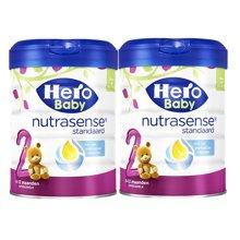 【2罐装】荷兰Hero Baby 天赋力奶粉白金版2段(6-12个月)800g/罐