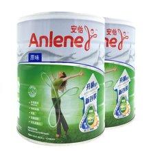 【2罐装】港版Anlene安怡原味成人高钙低脂奶粉800g