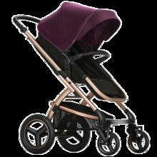 Pouch婴儿推车高景观婴儿车可坐可躺折叠宝宝推车儿童推车便携 简约大气 实用主义