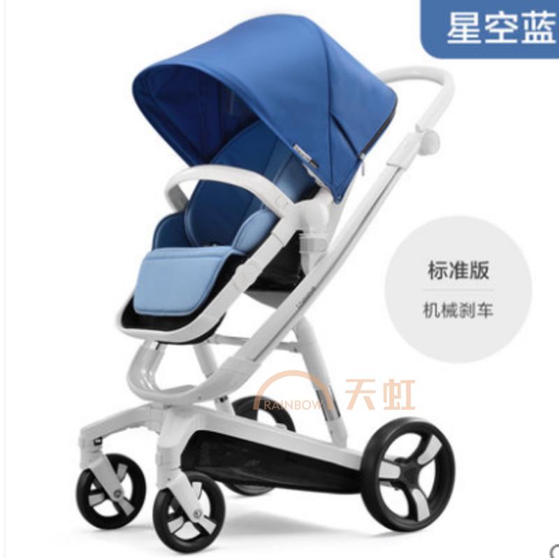 儿童玩具 童车 手推车 爱贝丽 ibelieve爱贝丽智能刹车婴儿推车高景观
