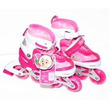 喜羊羊与灰太狼儿童轮滑鞋YY-777套装 正品闪光溜冰鞋旱冰鞋滑冰鞋