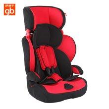 好孩子汽车用儿童安全座椅 宝宝高速车载坐椅9个月-12岁(CS901火红)