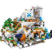 儿童拼接积木兼容儿童男孩益智拼装玩具世界矿山DIY拼插积木TTL33067