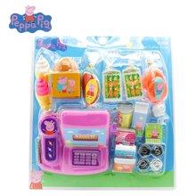 香港正品小猪佩奇Peppa Pig佩佩猪收银机玩具女孩过家家 儿童仿真奇缘超市模拟购物
