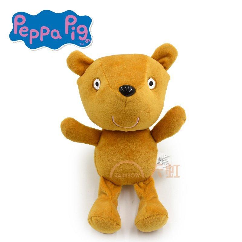 佩佩猪乔治猪恐龙先生小猪佩奇的泰迪熊玩偶毛绒玩具