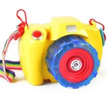 电动吹泡泡玩具 自动泡泡枪灯光音乐泡泡机儿童相机