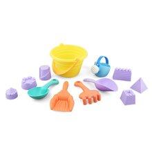 贝恩施沙滩玩具套装 宝宝挖沙玩具儿童夏日戏水玩沙玩具车1-3-6岁