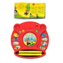 巨妙立玩具早教系列 电子鼓学习机-小红鼠爱大自然
