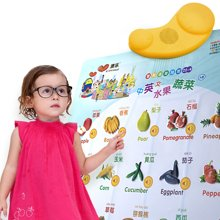 澳乐幼儿发音拼音有声挂图宝宝全套早教启蒙数字识字标准语音挂图