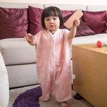 Marvelous Kids 夏季竹棉双层纱布背心分腿睡袋两用0-8岁