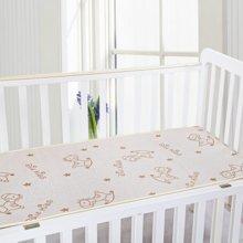 蒂乐亚草冰丝竹炭儿童凉席婴儿床凉席110*60cm