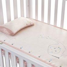 蒂乐婴儿冰丝凉席夏季新生儿宝宝儿童透气夏小凉席夏天幼儿园席子