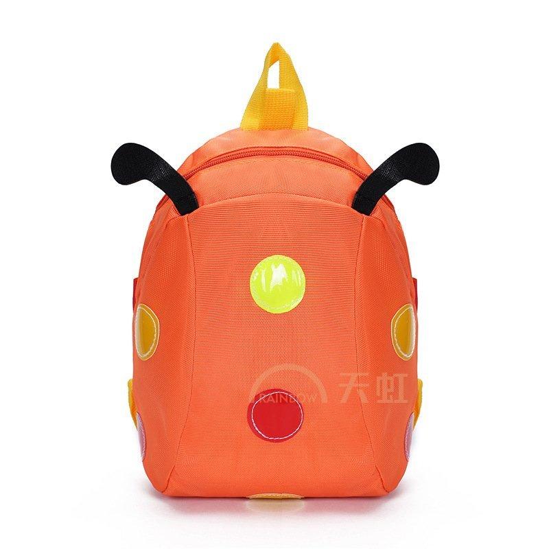 芃拉儿童背包宝宝带幼儿可爱卡通小书包bg016519blss-橙色
