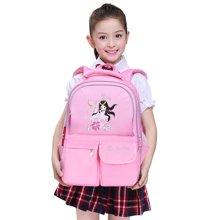 孔子书包 小学生书包 儿童书包 双肩背包2-5年级减负背包K501粉