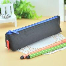 上品汇迷你三角笔袋精致简约纯色小笔袋尼龙面料小学生儿童铅笔袋