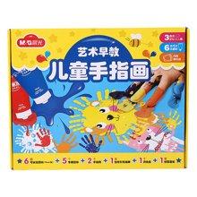 晨光文具儿童手指画宝宝涂鸦颜料手印画可水洗套装APL97624