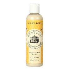 美国 小蜜蜂Burts Bees 婴儿沐浴露洗发水二合一 无泪无香配方 235ml