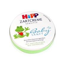 【德国】Hipp喜宝 婴儿有机杏仁油免敏润肤霜 便携铁盒面霜75ml 图案随机
