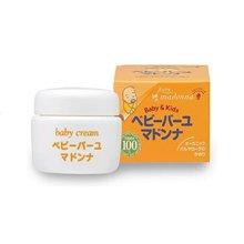 日本Madonna儿童天然润肤霜曼丹马油霜面霜25g*1瓶装