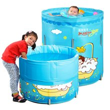 漫游宝宝可折叠游泳池(70cm*80cm尼龙PVC支架标准套餐版)