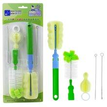 婴侍卫奶瓶工具套装奶瓶刷5件套海绵奶瓶奶嘴清洁刷工具YSWF101