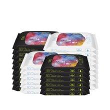 宜悦手口湿巾8抽*30包 植物纤维湿纸巾护肤柔便携湿纸巾