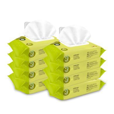 【婴儿湿巾80抽×8包】小树苗婴幼儿湿巾宝宝用湿巾80抽8包