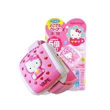 【日本】VAPE hello kitty 20日驱蚊手表 宝宝婴儿孕妇适用 粉色