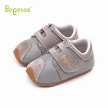 巴贝乐babelos新款春秋季软底防滑宝宝鞋羊皮学步鞋男女婴儿室内鞋0-1-2岁B31712066
