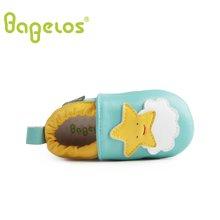 巴贝乐babelos童鞋秋季新款羊皮婴儿鞋宝宝鞋 卡通小星星学步鞋男女同款0-1-2岁B31711074